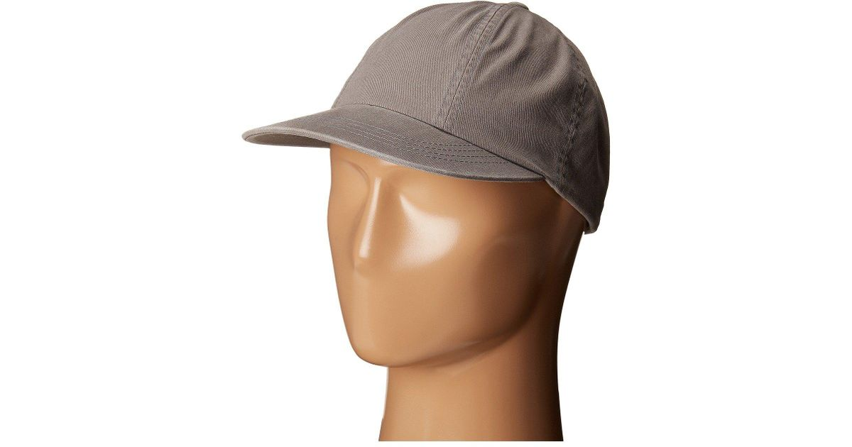8646e163de1bb Lyst - Brixton Lakewood Cap in Gray for Men