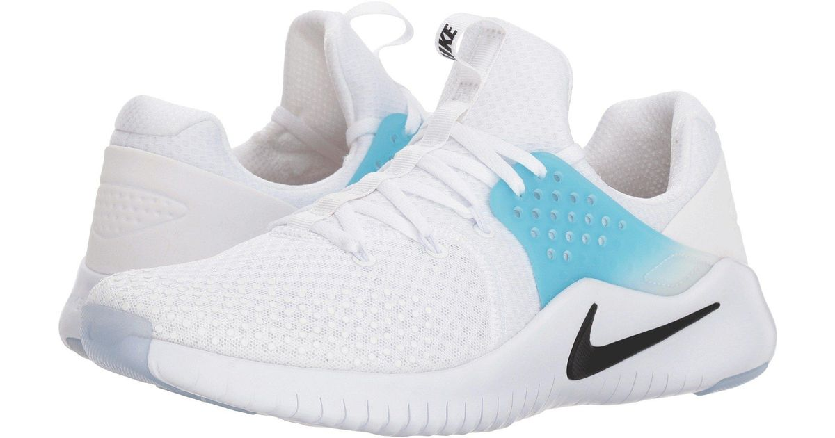 sports shoes 2a9cf a317c Lyst - Nike Free Trainer V8 (black white red Blaze) Men s Cross Training  Shoes in White