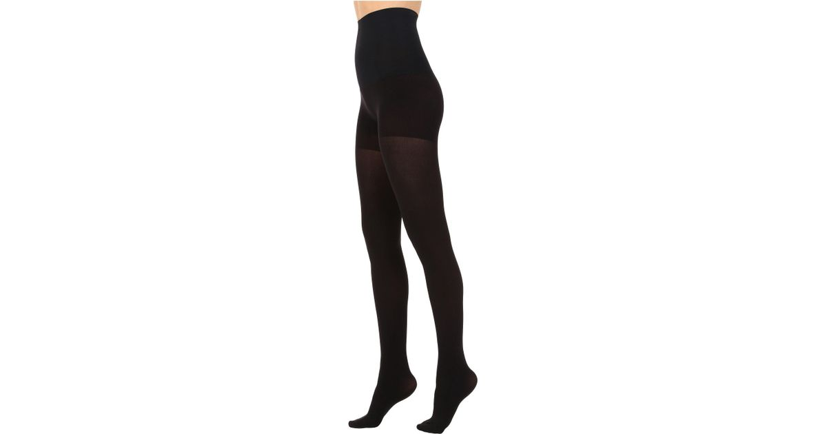 4d7d5d1b3ae Commando Ultimate Opaque Tights In Control Hc70t1 (black) Hose in Black -  Lyst