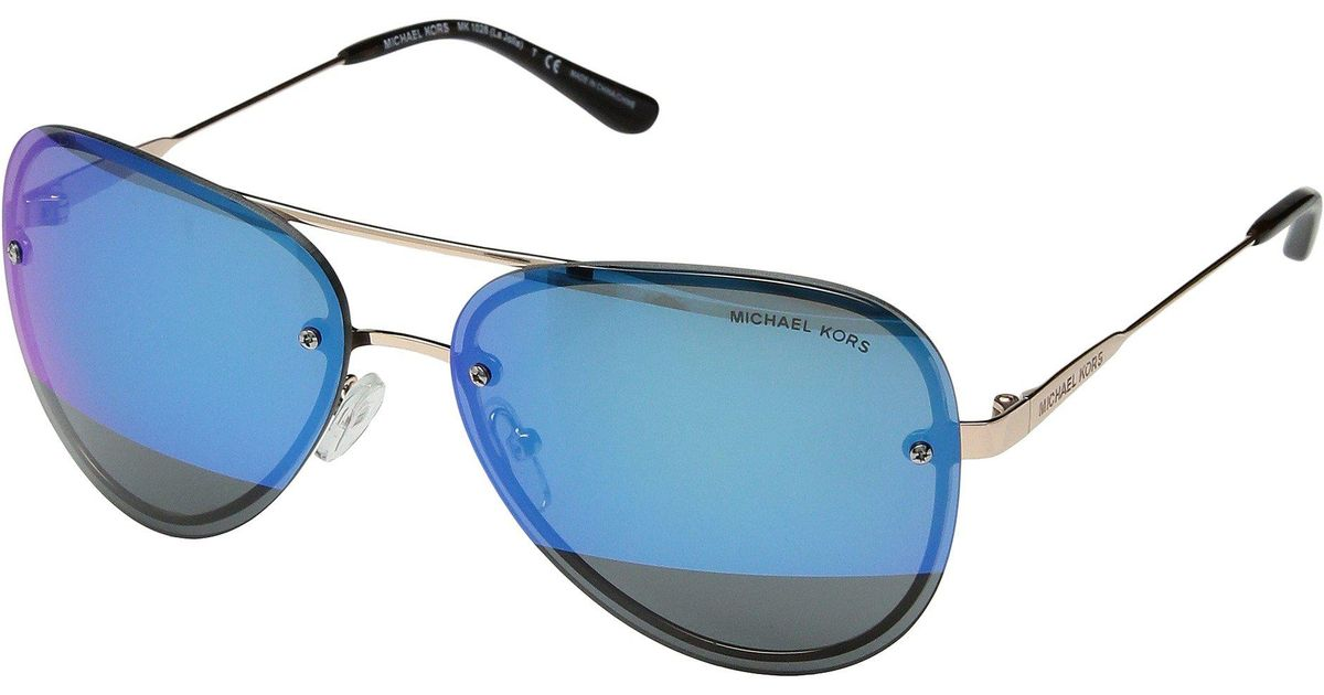 21f3539143515 Michael Kors La Jolla 0mk1026 59mm in Blue - Lyst