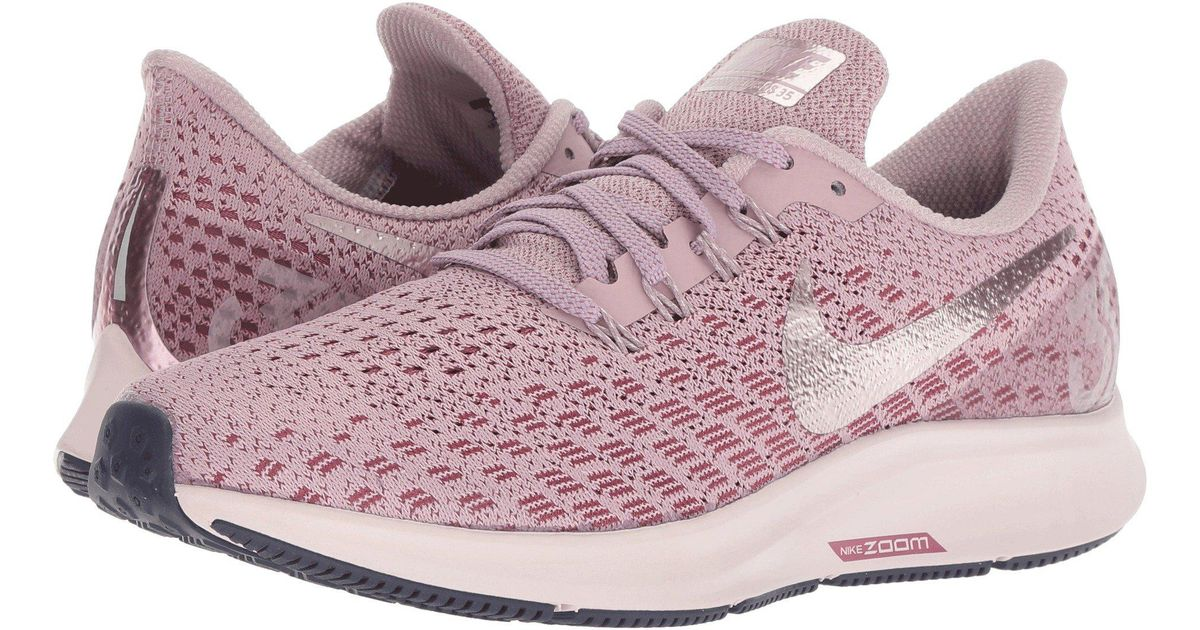 35d37fa10b3 Nike Air Zoom Pegasus 35 (gridirion/light Carbon/storm Pink) Women's  Running Shoes in Pink - Lyst
