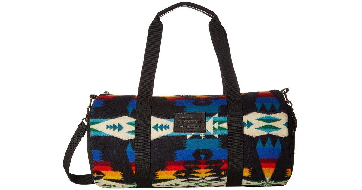 2cefe7ae59 Lyst - Pendleton Round Gym Bag (tucson Black) Bags in Black