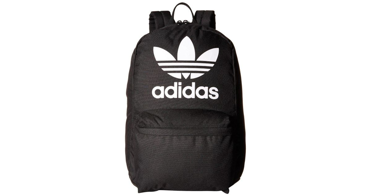 Lyst - adidas Originals Originals Big Logo Backpack (ash Green) Backpack  Bags in Black for Men 3ccdf610d18ee