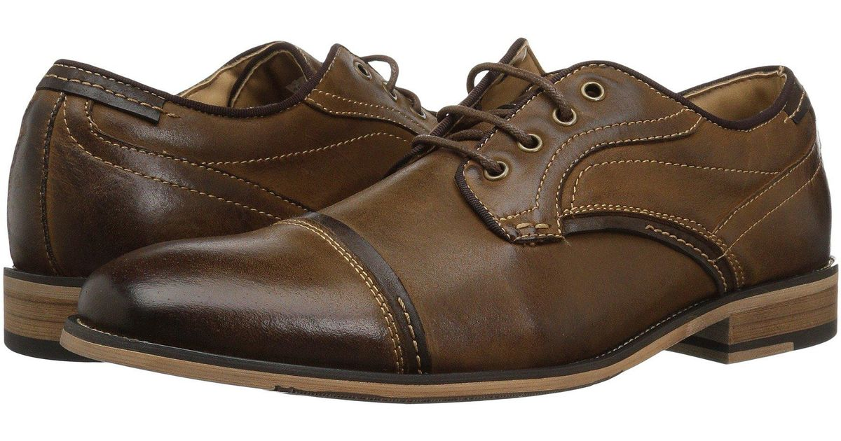 26b22233177 Lyst - Steve Madden Jenton (dark Tan) Men s Lace Up Casual Shoes in Brown  for Men
