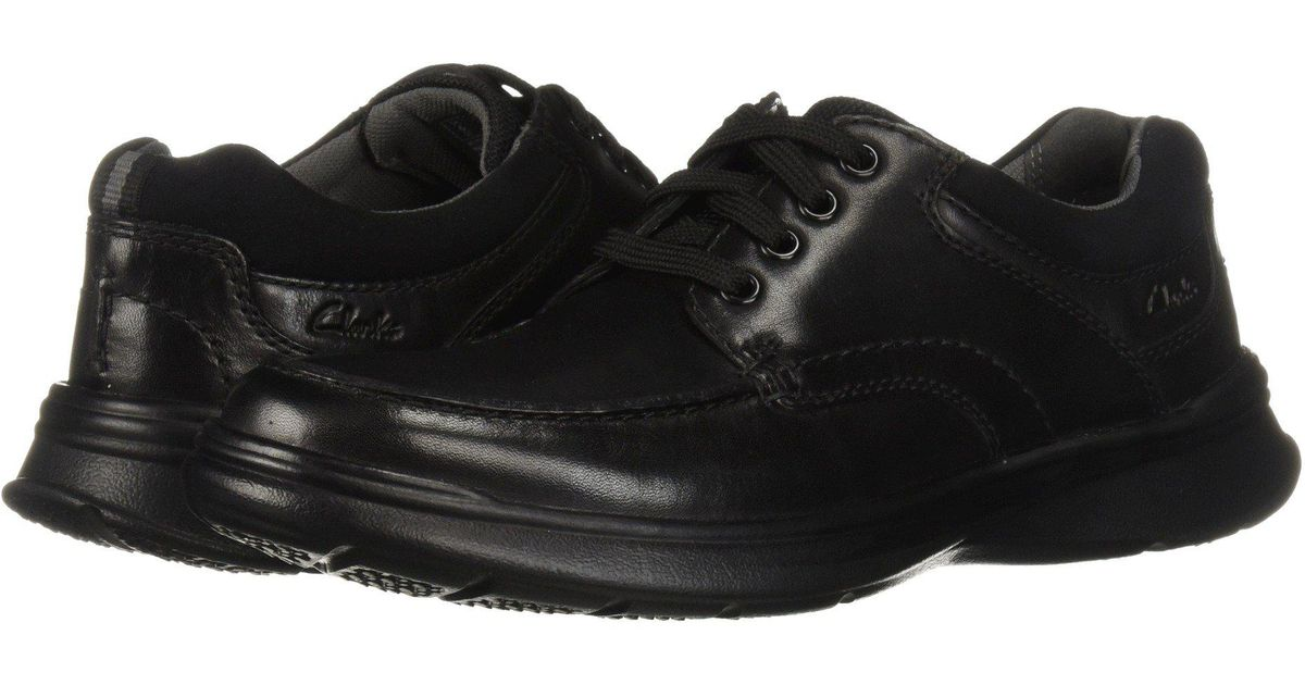 5543a92b0a1 Lyst - Clarks Cotrell Edge (black Smooth Leather) Men s Shoes in Black for  Men