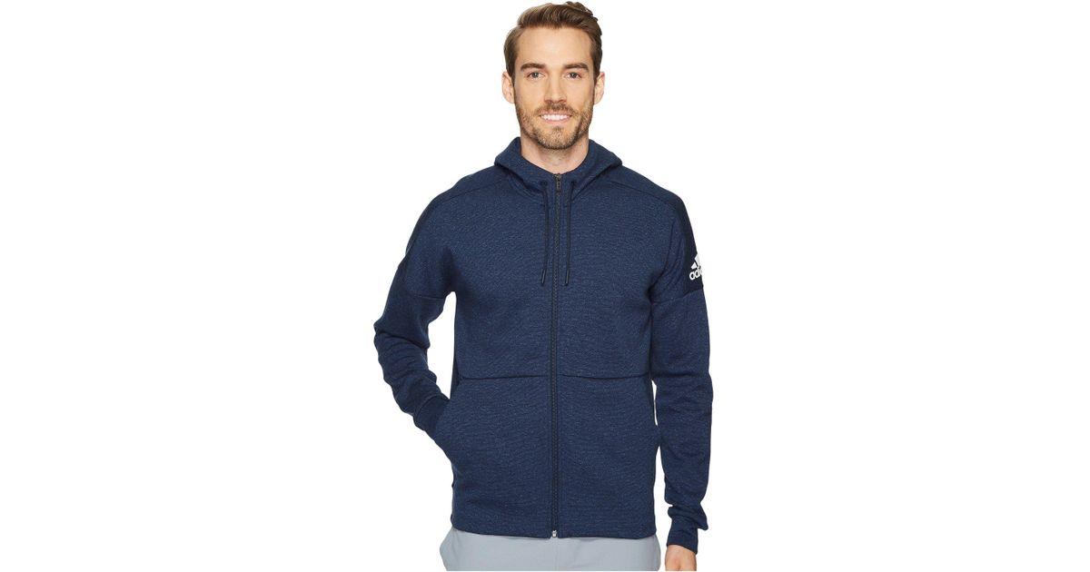 1f737e31ebe7b Lyst - adidas Sport Id Stadium Full-zip Hoodie in Blue for Men