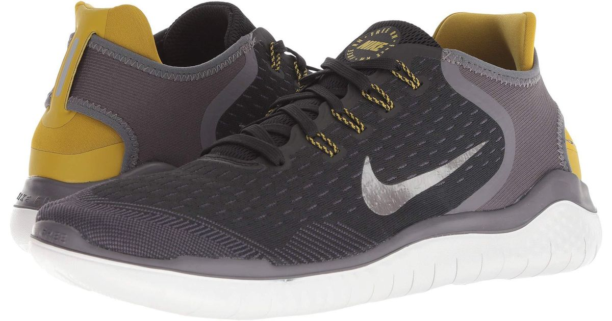 142cdb1ffa49 Lyst - Nike Free Rn 2018 (blue Force white green Abyss) Men s Running Shoes  in Black for Men