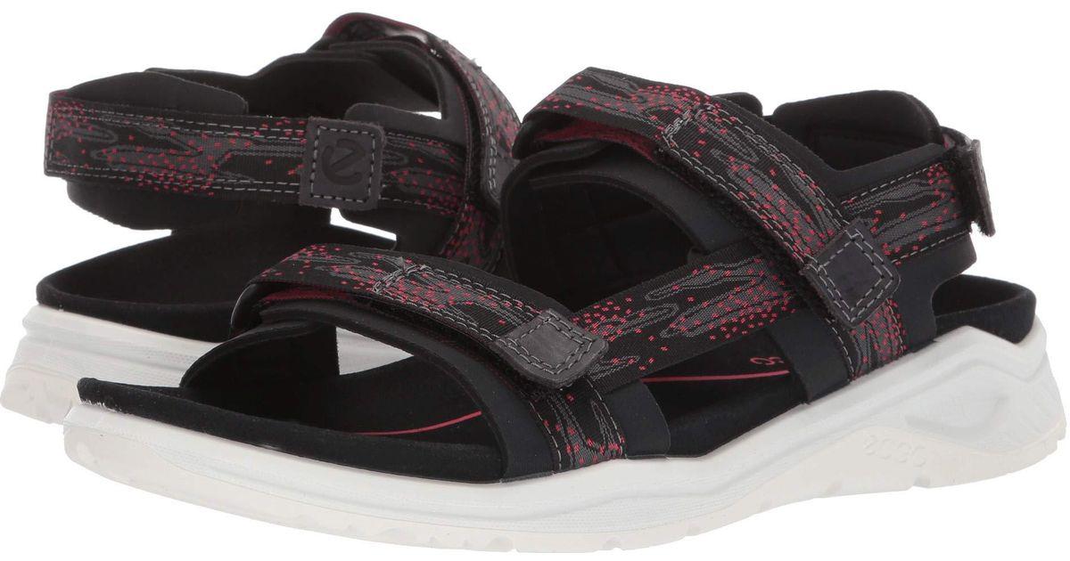 85ac5c9d4419dd Lyst - Ecco X-trinsic Strap Sandal (wild Dove moon) Women s Sandals in Black