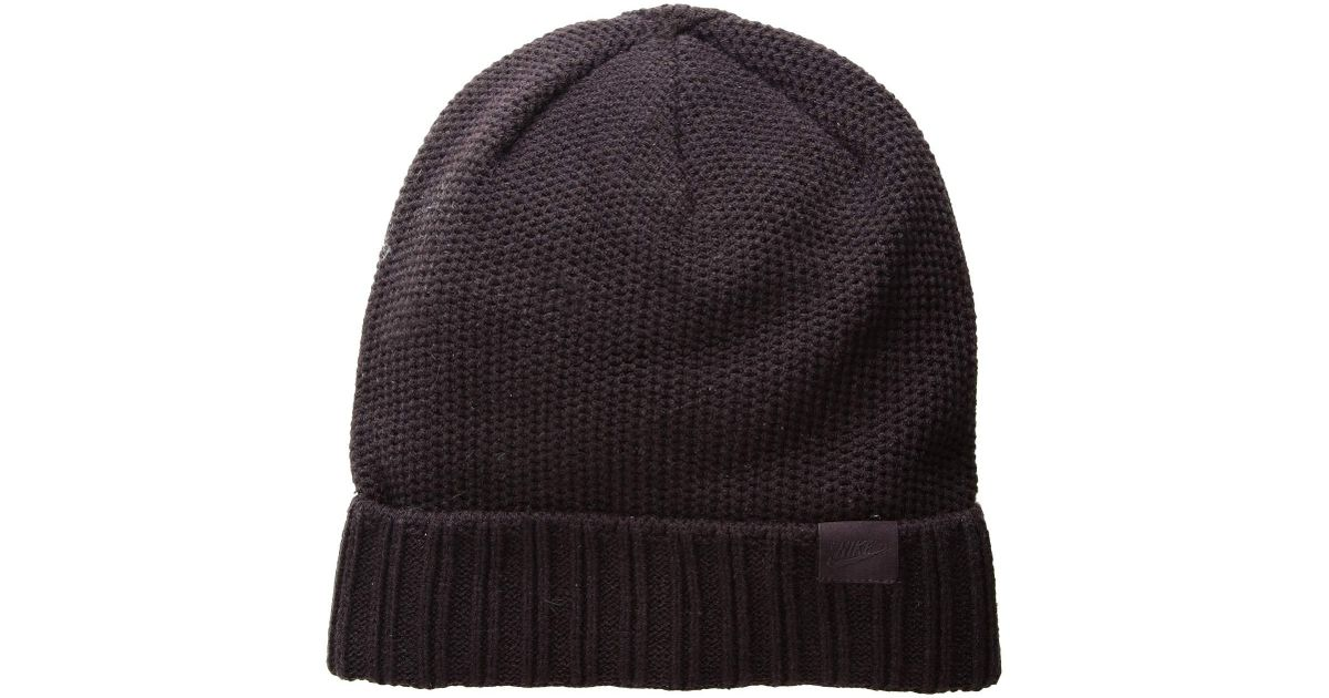 size 40 aec9f 43f77 Lyst - Nike Nsw Beanie Honeycomb Pom (olive Canvas olive Canvas) Beanies in  Gray for Men