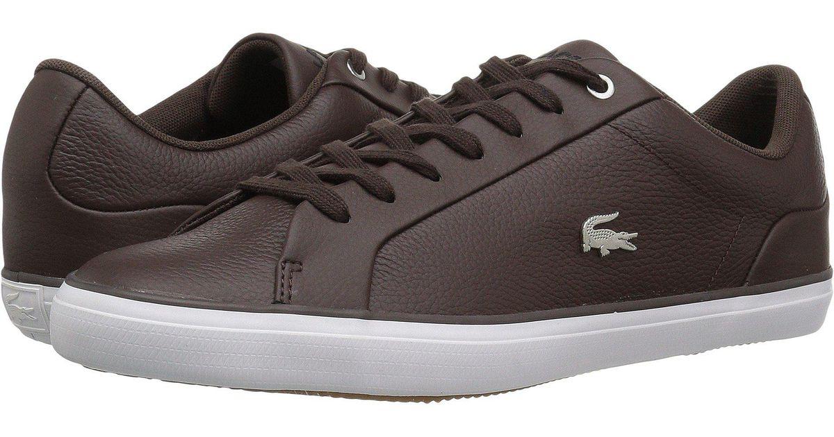 57c2e66cde647c Lyst - Lacoste Lerond 118 1 U (black grey) Men s Shoes in Brown for Men