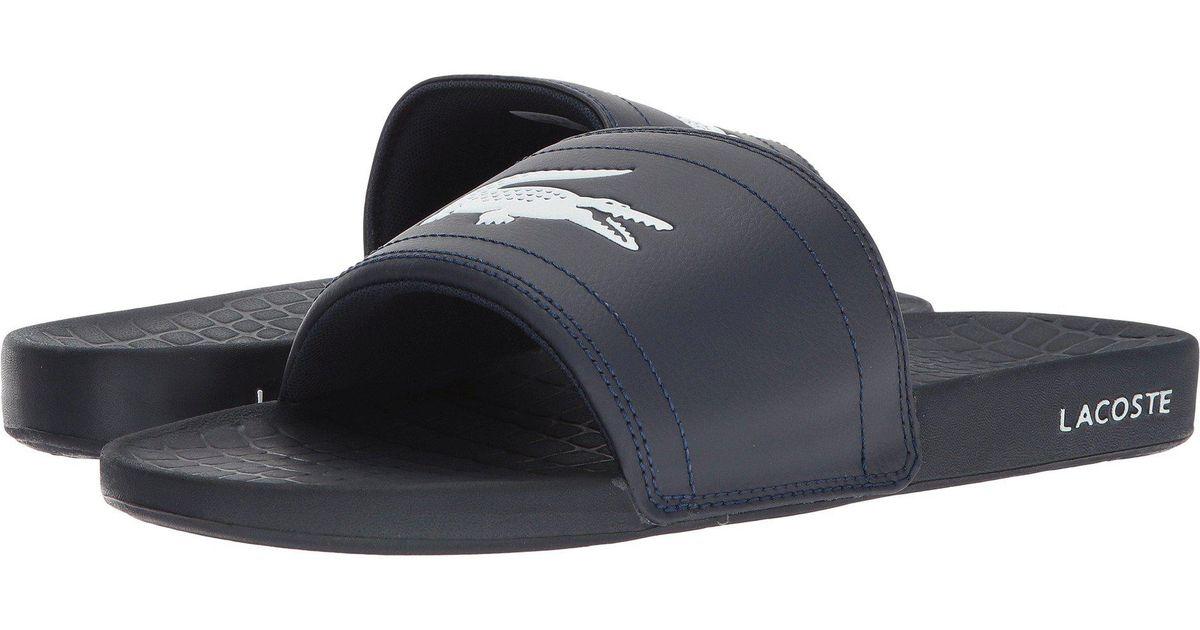 26f11d8977112 Lyst - Lacoste Fraisier 118 1 Us (green black) Men s Shoes in Blue for Men