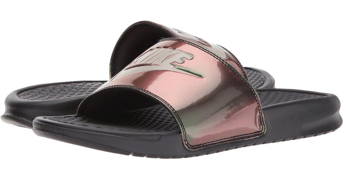 a8ad4424ca1 Lyst - Nike Benassi Jdi Slide in Black