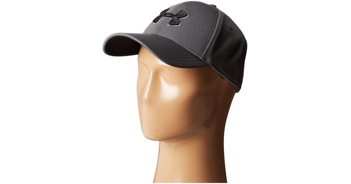 Lyst - Under Armour Ua Blitzing Ii Stretch Fit Cap in Gray for Men 1b4eaff340d
