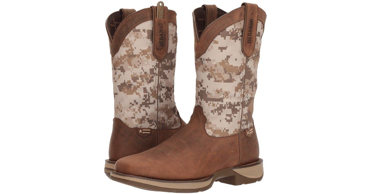 19c8a31844c1d Durango Lil' Rebel By Big Kids Desert Camo Western Boot in Brown for Men -  Save 38% - Lyst