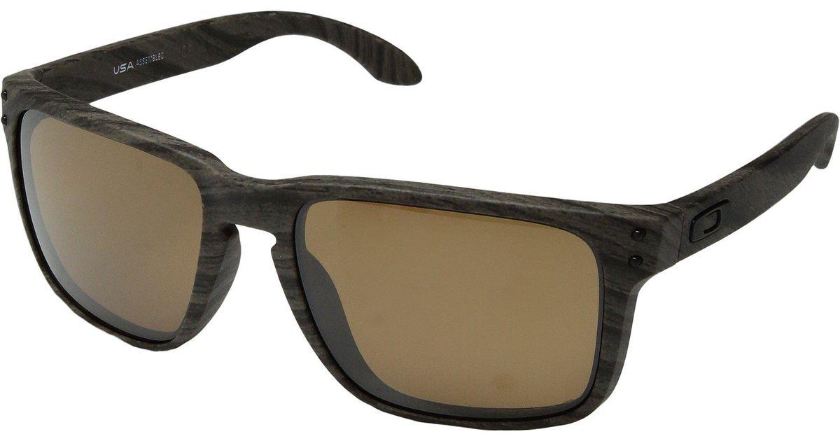23f8467edd71e Oakley. Women s Holbrook Xl (polished Black W  Prizm Sapphire) Athletic  Performance Sport Sunglasses