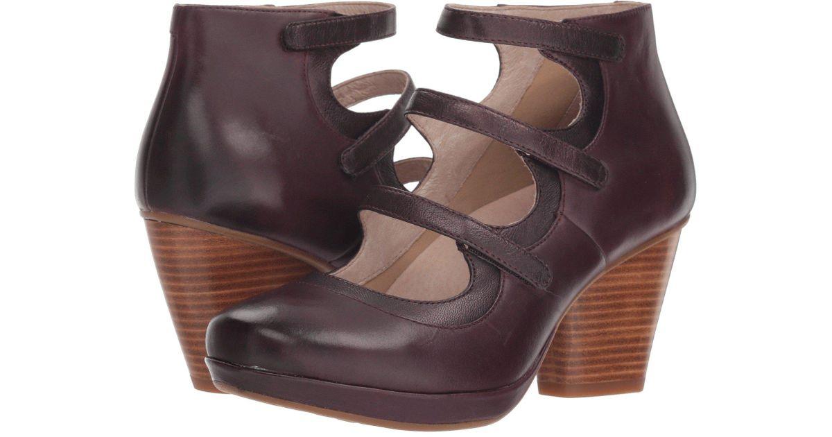 6952e5454890 Lyst - Dansko Marlene (black Burnished Calf) Women s Shoes in Brown - Save  10%