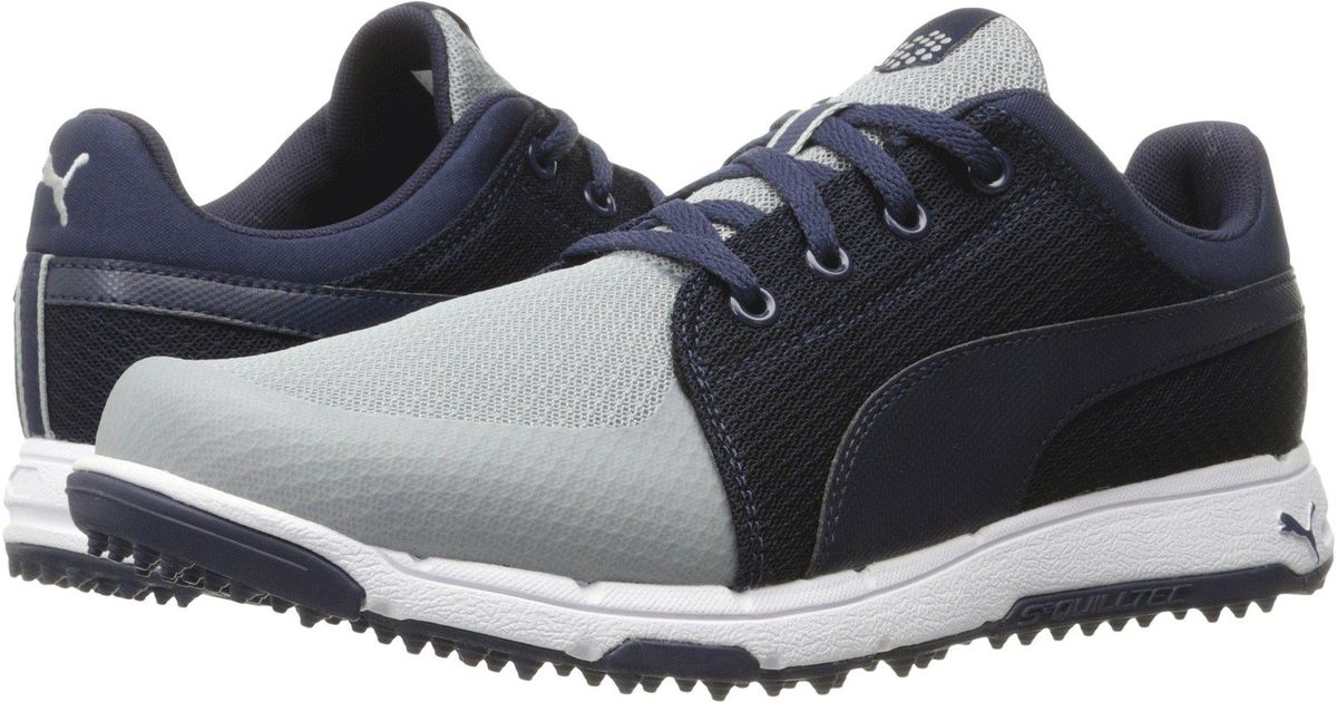 8373a8fdf1f Lyst - Puma Grip Sport (quarry white) Men s Golf Shoes in Blue for Men