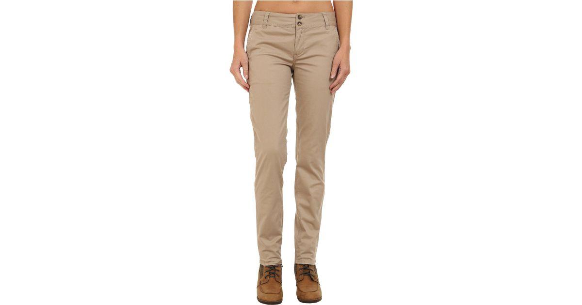 903172cf72d7 Mountain Khakis Sadie Skinny Chino Pants in Natural - Lyst