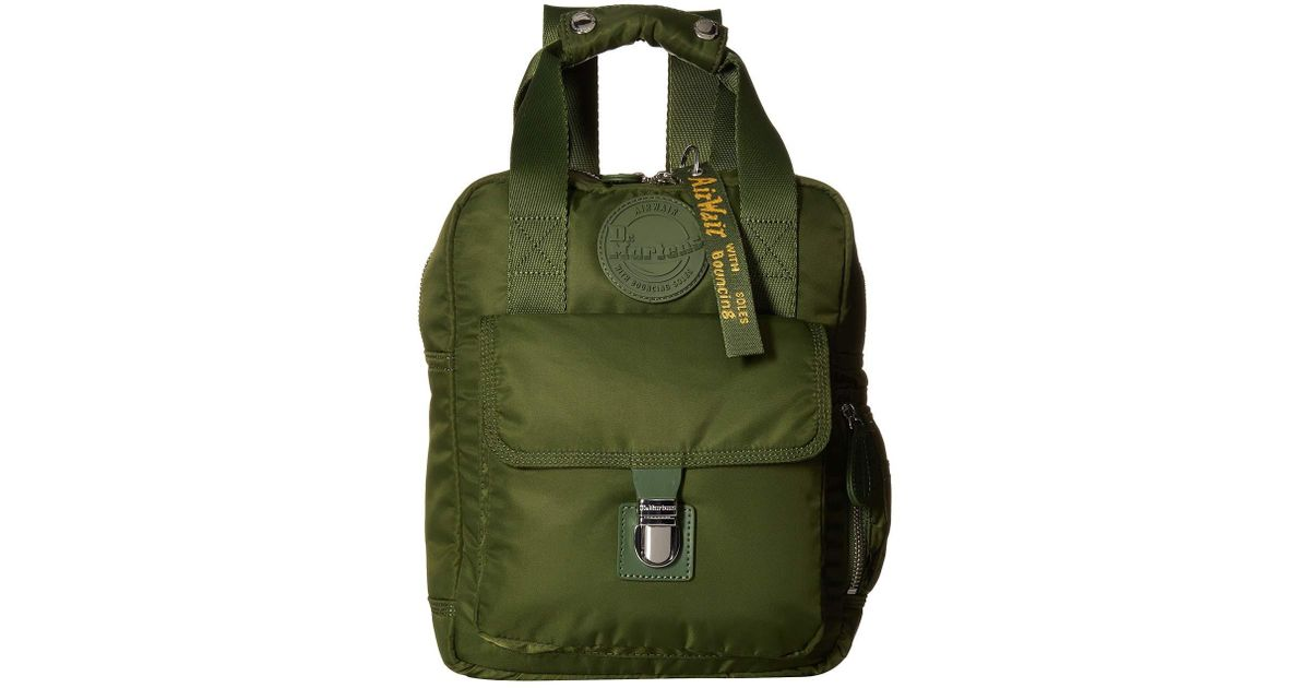 8cb00768cd Lyst - Dr. Martens Small Nylon Backpack (olive Green Nylon) Backpack Bags  in Green for Men