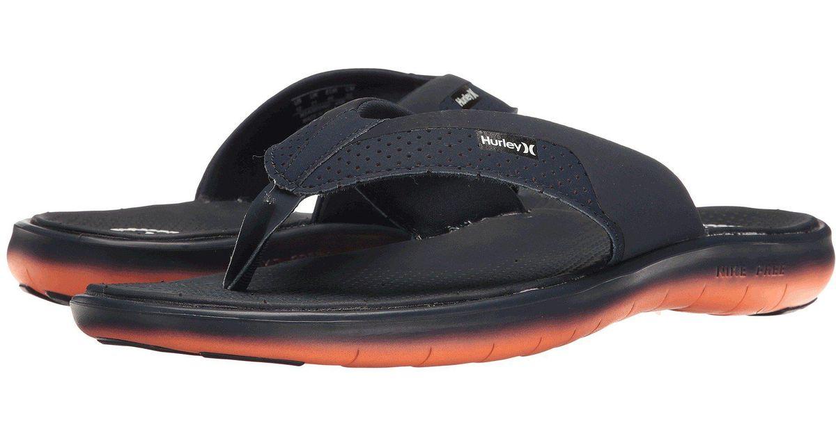 0b1d75a8f Lyst - Hurley Phantom Free Motion Sandal  17 for Men