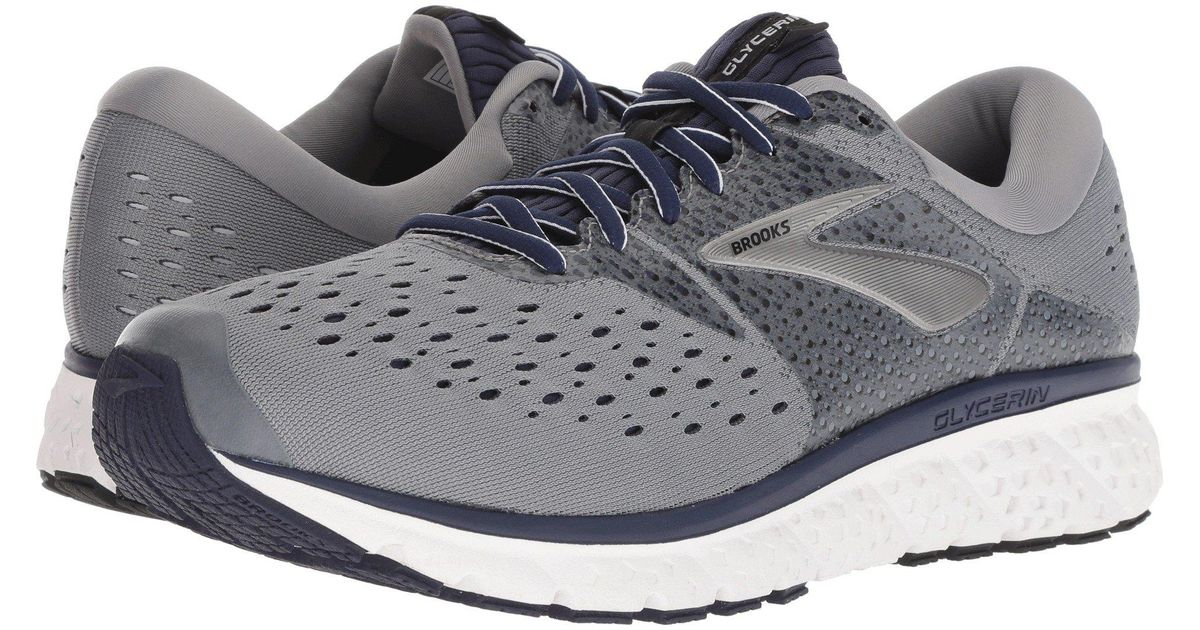 0c613b586a4 Lyst - Brooks Glycerin 16 (reflective Black white grey) Men s Running Shoes  in Gray for Men