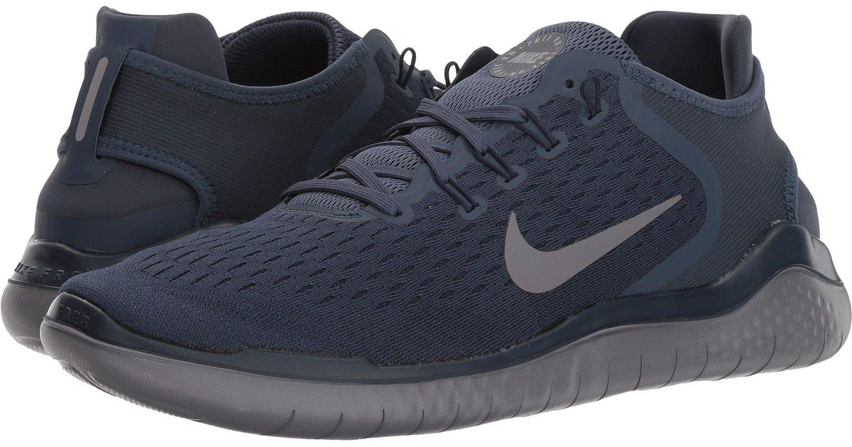 newest collection 659fd 4ff5c Nike Free Rn 2018 (wolf Grey white volt) Men s Running Shoes in Blue for Men  - Lyst