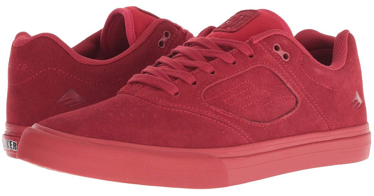 6ee98afc1783 Lyst - Emerica Reynolds 3 G6 Vulc X Baker (red) Men s Shoes in Red for Men