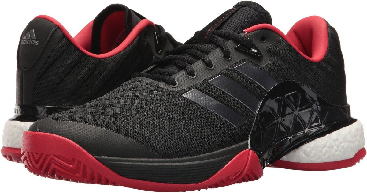 premium selection 2559f 94d6b Lyst - adidas Barricade 2018 Boost in Black for Men