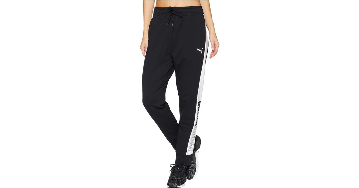 f5c3e2885b6dc8 PUMA Modern Sport Track Pants (cotton Black) Casual Pants in Black - Save  38% - Lyst
