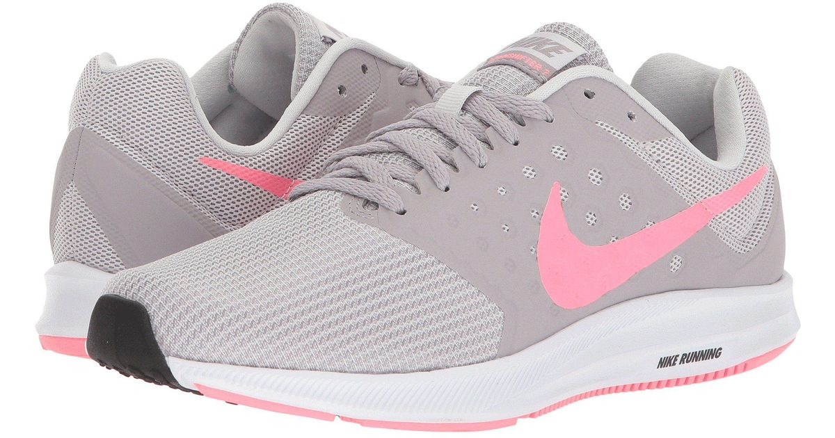 e251bf650bf Lyst - Nike Downshifter 7 (vast Grey sunset Pulse atmosphere Grey) Women s Running  Shoes in Gray