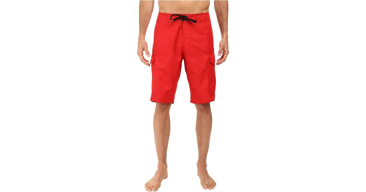 28a729fd11 Quiksilver Manic 22 Boardshorts (quik Red) Men's Swimwear in Red for Men -  Lyst