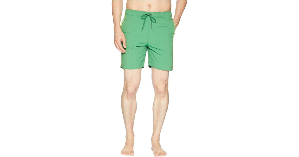 5e2b4c137f Brixton Santos Trunks (washed Kelly) Swimwear in Green for Men - Save 29% -  Lyst