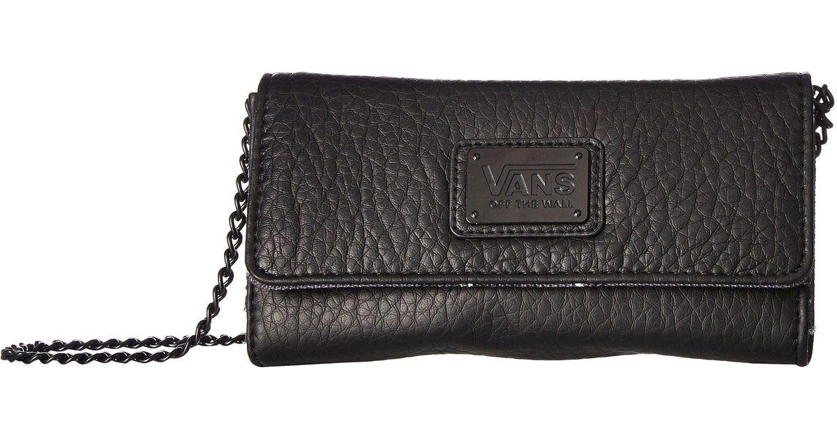 d0a0de4c39725c Lyst - Vans Chained Reaction Wallet (black leopard) Wallet Handbags in Black