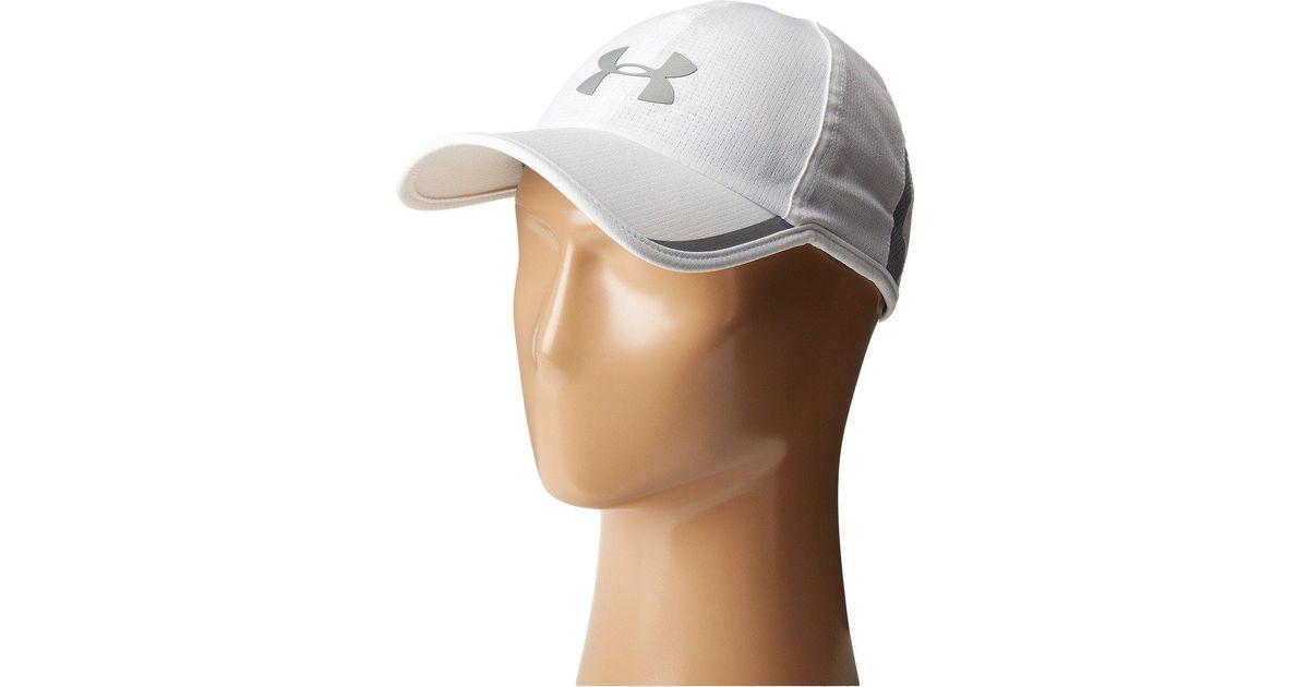 53cb9255f38 Lyst - Under Armour Ua Shadow Av Cap in White for Men