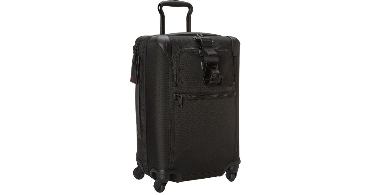 ba14c4ba79 Tumi Alpha 2 - International Expandable 4 Wheeled Carry-on (black) Carry On  Luggage in Black for Men - Lyst