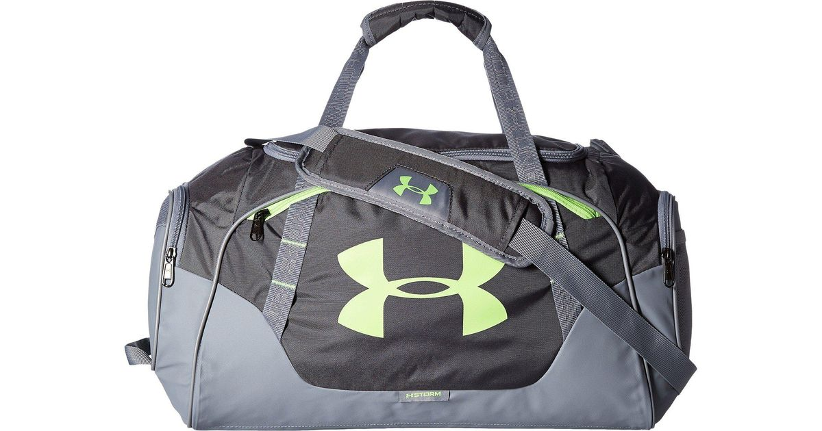 5c5426ad334b Lyst - Under Armour Ua Undeniable Duffel 3.0 Sm in Gray for Men