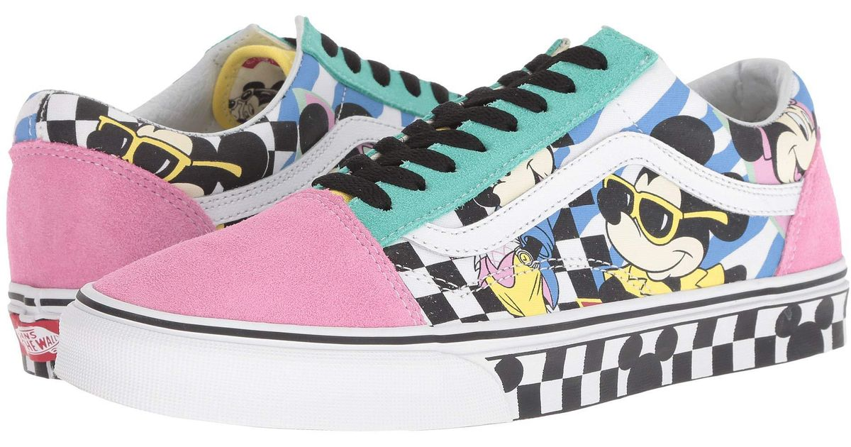 vans mickey mouse shoes