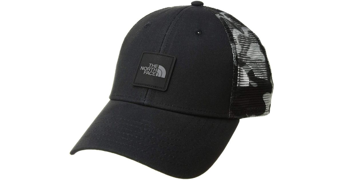 5e75c08d3ffaa The North Face Mudder Novelty Mesh Trucker Hat (tnf Black Psychedelic  Print) Caps in Black for Men - Lyst