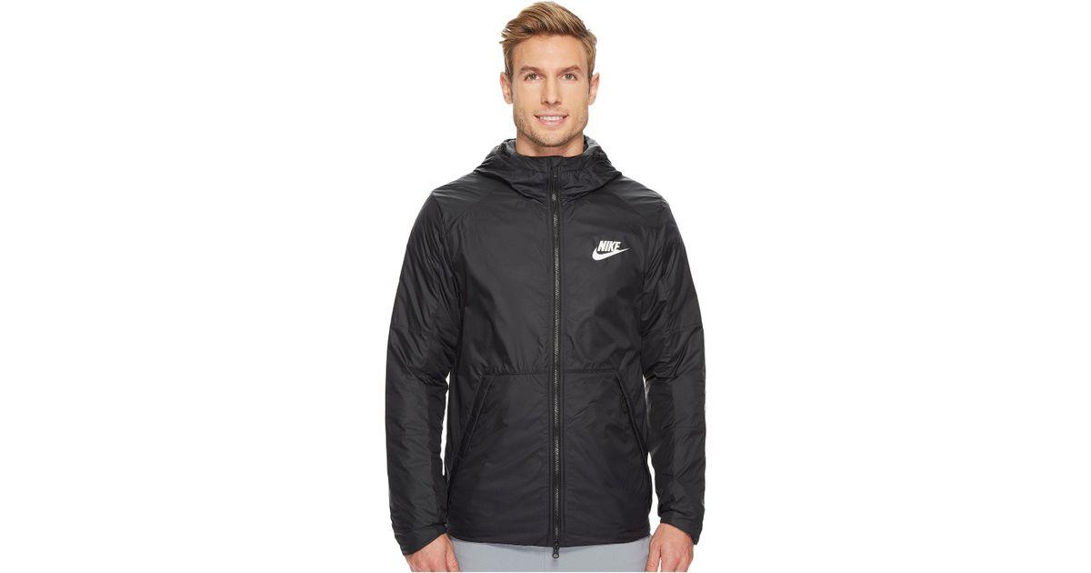 f5909126f Nike Synthetic Fill Fleece Jacket in Black for Men - Lyst