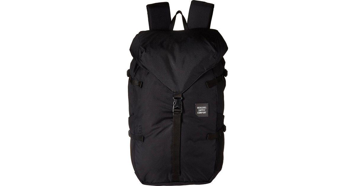 Lyst - Herschel Supply Co. Barlow Large in Black for Men 6e987490dd0b3