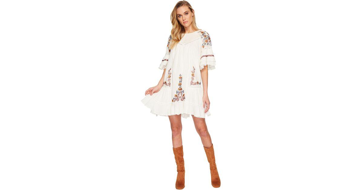 55c7045fbeb3 Lyst - Free People Pavlo Dress in White