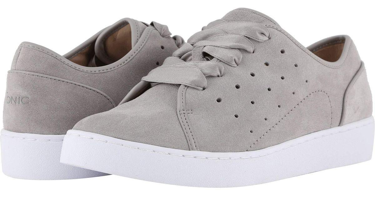 c13dfe586827 Grey Chaussures pour à Vionic Suede Keke femme lacets Lyst wqFvtzIw