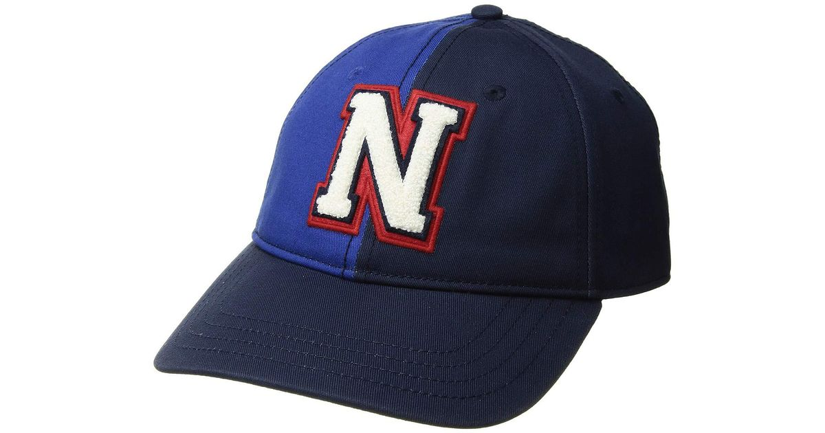bc2512453d0dcc Nautica Color Block Dad Hat in Blue for Men - Lyst