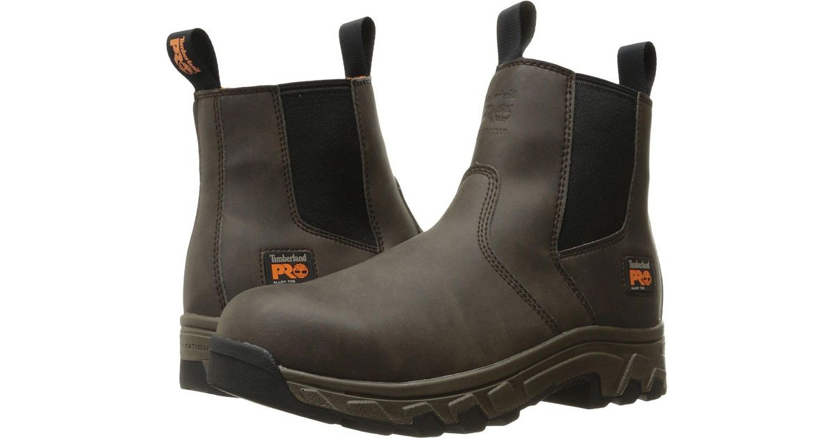 Lyst - Timberland Linden Chelsea Alloy Toe Raptek (brown) Men s Boots in  Brown for Men - Save 11% e84ac809b
