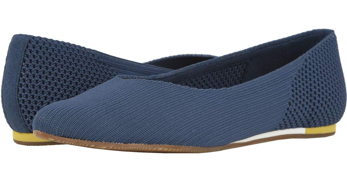 25ea3736e7f Lyst - Softwalk Sava X Lea Knit (cherry Red) Women s Flat Shoes in Blue