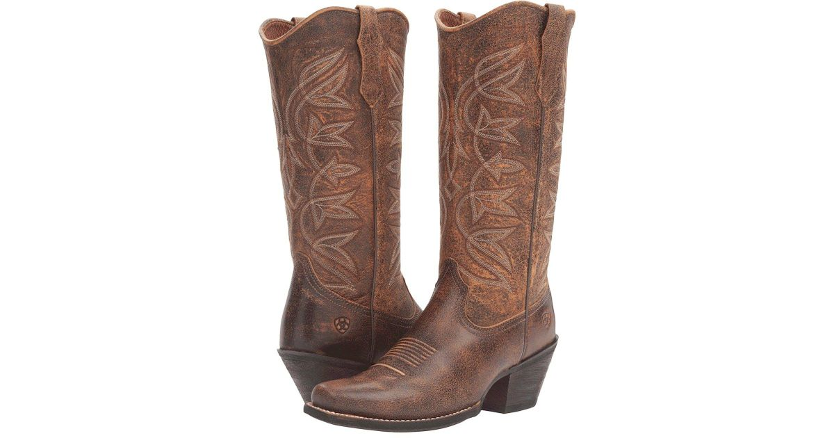 e31596fbde1 Ariat - Multicolor Sheridan (sassy Brown) Cowboy Boots - Lyst