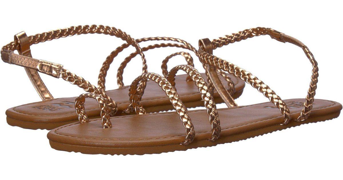 06035b5c970279 Lyst - Billabong Summer Breeze (off-black) Women s Sandals in Brown