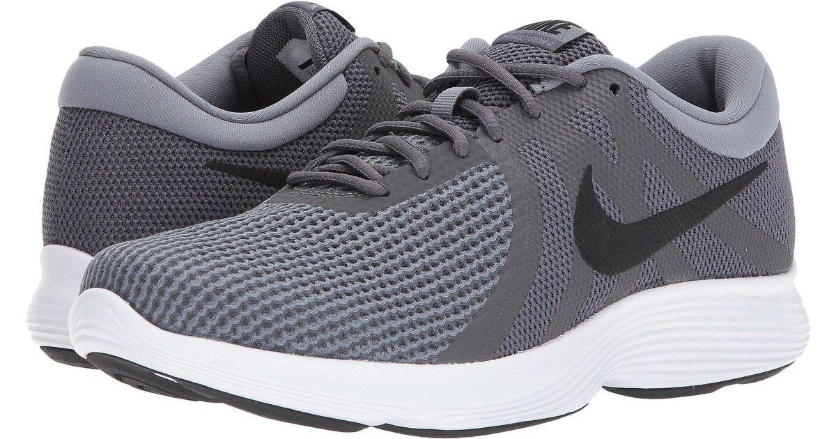 c47ceae18d5 Lyst - Nike Revolution 4 (black white anthracite) Men s Running Shoes in  Gray for Men