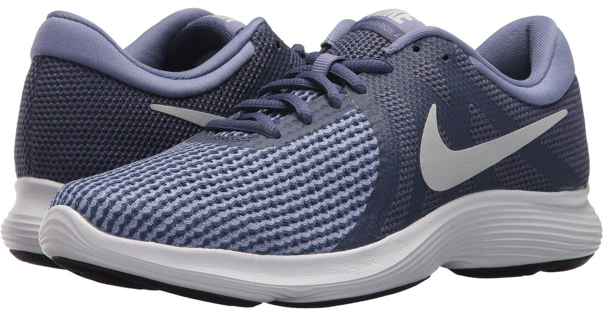 7e7ac82e9904 Lyst - Nike Revolution 4 (thunder Blue football Grey ashen Slate) Women s  Running Shoes in Blue