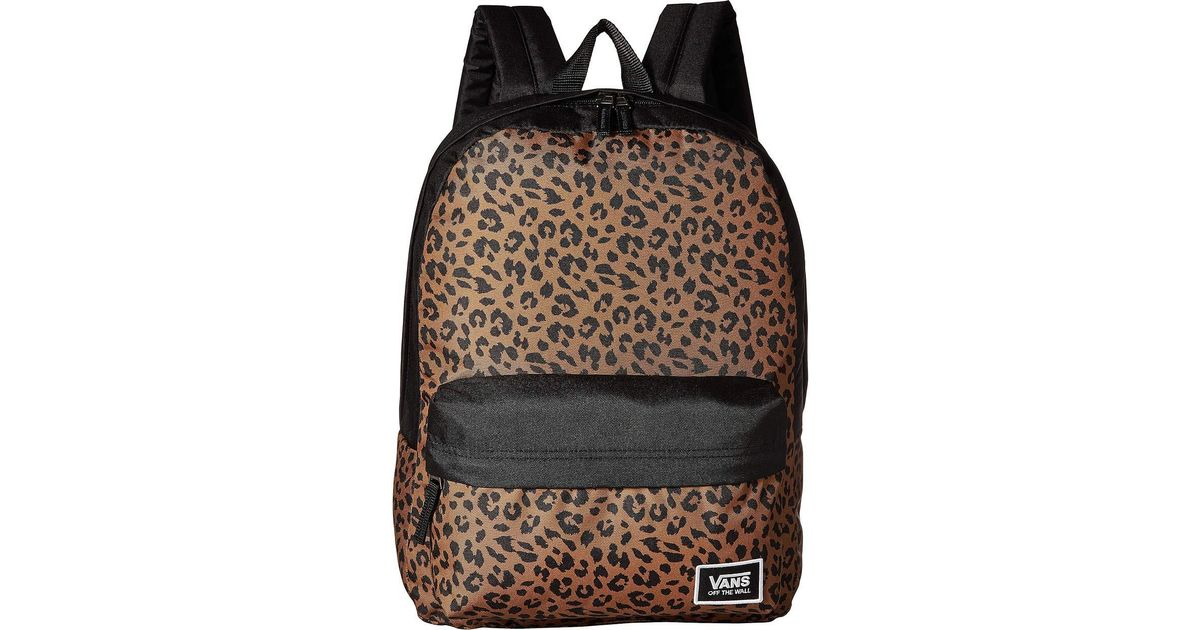 9b44b8dccd Vans Realm Classic Backpack (fairy Tale Checkerboard) Backpack Bags in  Black - Lyst
